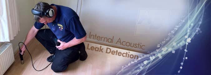 Internal Acoustic Leak Detection