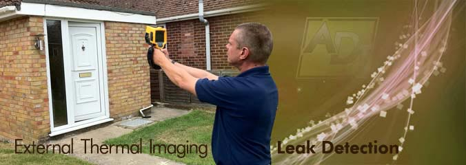 External Thermal Imaging Leak Detection