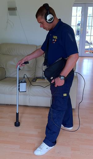 Internal Gas Leak Detection