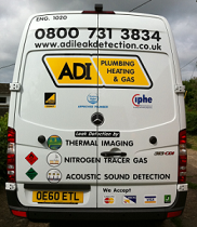 Leak Detection Van