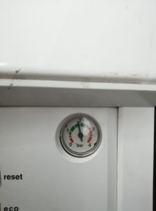 Boiler Pressure Guage (Analogue)
