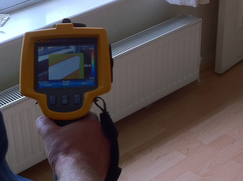 Radiator Leak Detection With thermal Imaging