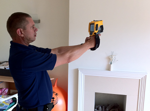 Leak Detection In Walls Using Thermal Imaging
