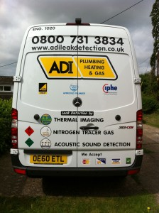 Hidden water pipe leak specialists