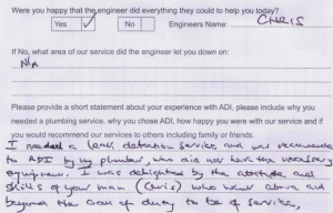 Leak Detection Review & Testimonial
