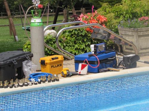 Swimming Pool Filtration System Leak Detection Repair Service Water Leak Detection