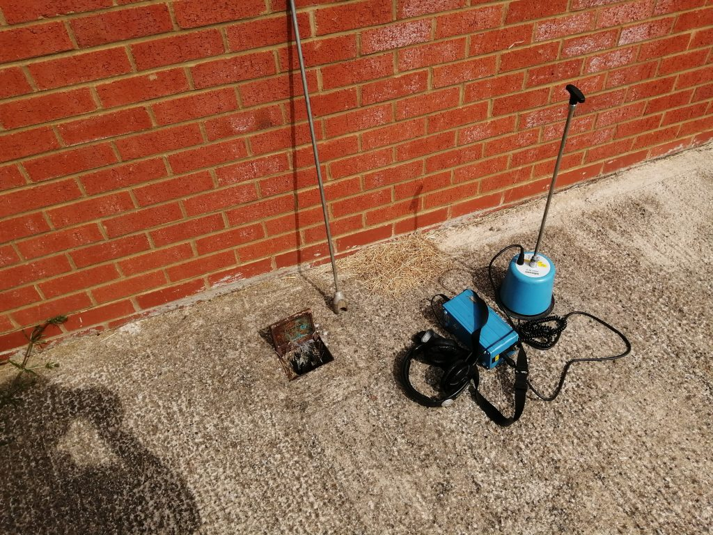 acoustic leak detection equipment