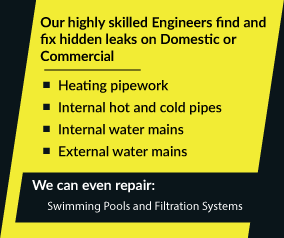 Leak detection service list