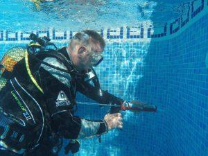 Underwater Pool Leak Detection