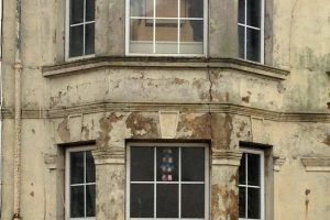 Damp Damaged Building From Possible Water Leak