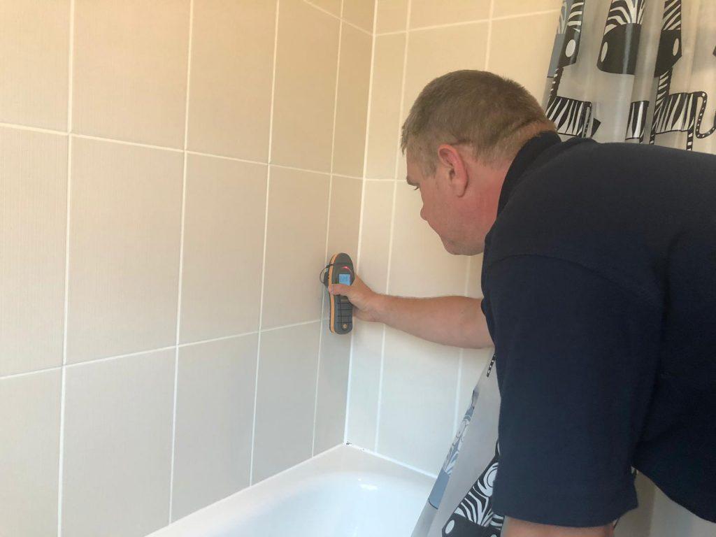 Shower Leak Detection