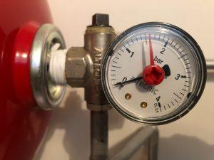 Heating pressure Guage