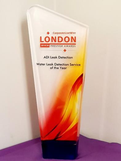Leak Detection Service Award